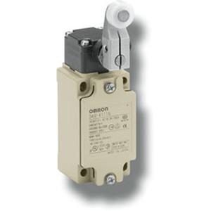 D4B-4111N, Positionsschalter mit Sicherheitsfunktion, 1 Kabeleinführung M20, 1 Öffner + 1 Schließer (Sprungkontakte), Rollenhebel