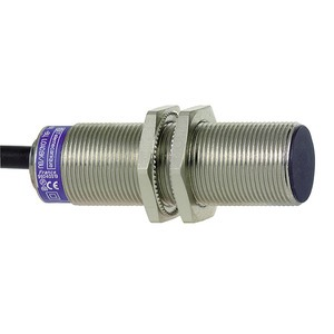 XS5-Indu. Näher.sch. M12, L53mm, Messing, Sn 2mm, 12-48 V DC, 5m Kabel