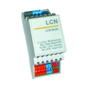 LCN - BU4L, 4-fach Tasten-/Binär-/Alarmsensor & S0-Schnittstelle 4x 6-24V