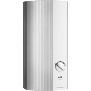 DDLE Basis 18/21/24, Elektronischer Durchlauferhitzer mit gutem Temperaturkomfort, weitgehend konstante Auslauftemperaturen, stufenlose Temperatureinstellung, umschaltbare Leistung, Anschlusswerte 1