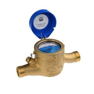AND-EAX, KNX Kalt-Wasserzähler Andrae MTK-EAX  Q3 4 / DN20 / 130mm / G1 / horizontal / 30°C