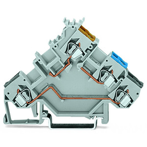 3-Leiter-Initiatorenklemme 2,5 mm² grau