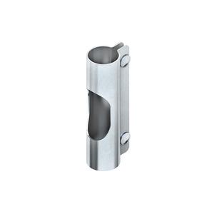 MIKG 30 F, Kupplung, gelocht, Ø 30 mm, Stahl, feuerverzinkt DIN EN ISO 1461