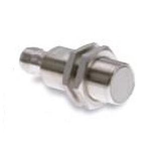 E2EH-X7B1-M1, Näherungssensor, induktiv, Sn= 7mm, bündig, Edelstahl-Gehäuse, M18, 3-Draht, PNP, Schließer, hitzebeständig, M12 Stecker