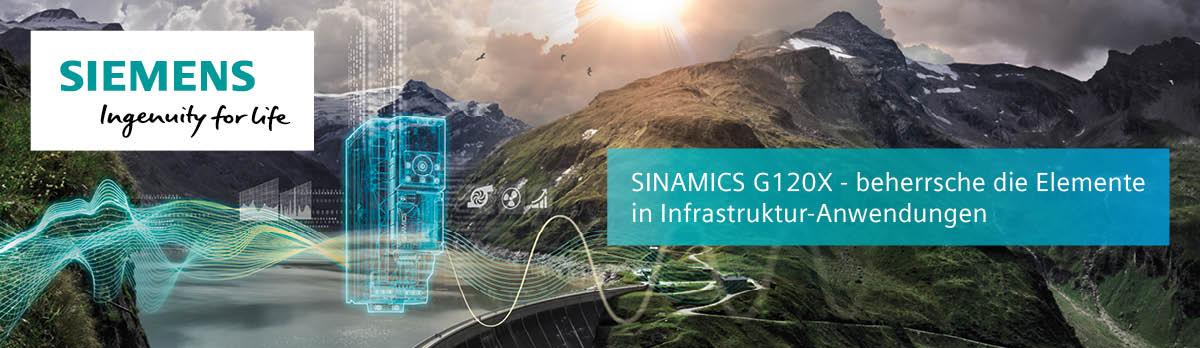 SINAMICS G120X