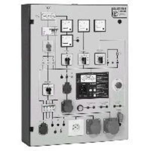 PST 1E, Prüftafel mit eingebautem;Messgerät GE