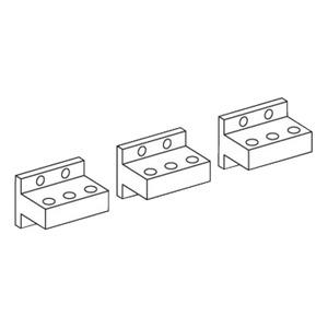 Rückseitige Anschlüsse horizontale Montage oben, für NW 25-32, 3p