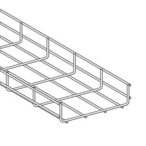 Gitterkanal U-Form GKX 120x 60 S, Länge=1305mm, nach Zeichnung T11021774,Version 1, Material St-verzinkt