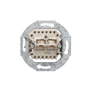 UAE 8/8 (8/8) Up 0, Anschlussdose 2x8polig zum Anschluss von Endgeräten in analog-und digitalem Netz