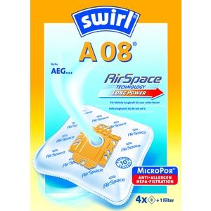 A 08(A 09) MP Plus AirS Staubf.-Btl., Staubsaugerbeutel A 08(A 09) MP Plus AirSpace (3x4)