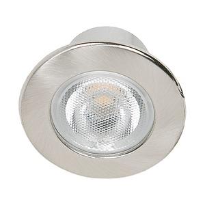 LED Mini Spot R nickel-geb. 3,3W warmweiß 22°, LED Mini Spot R nickel-geb. 3,3W warmweiß 22°