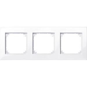 M-PLAN-Rahmen, 3fach, aktivweiß glänzend