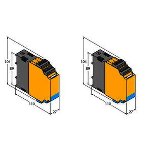 FMX-IM-3UR38X, Strömungsüberwachung, Für den Anschluss von Ex-Strömungssensoren, IO-Link Device mit Relaisausgängen, TÜV 11 ATEX 078981, Nr. 4064 M