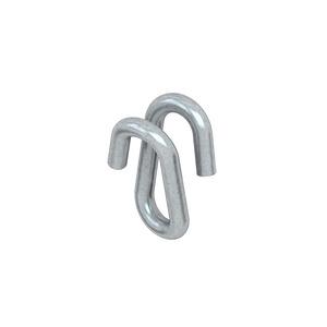 KCHN, Notglied, Höhe 15 mm, Stärke 3 mm, Stahl, galvanisch verzinkt DIN EN ISO 2081, blaupassiviert