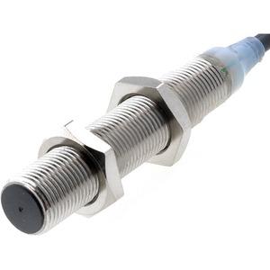 E2A-M12LS04-WP-B1 5M, Näherungsschalter, induktiv, M12, abgeschirmt, 4 mm, DC, 3-adrig, PNP / Schließer, 5m