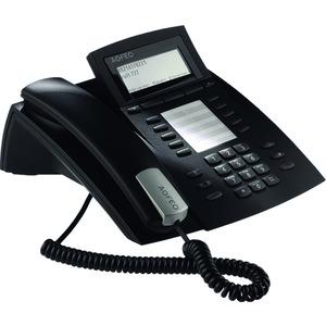 ST 42 AB schwarz, Systemtelefon inkl. Anrufbeantworter für Anlagen mit S0- und UP0-Schnittstelle