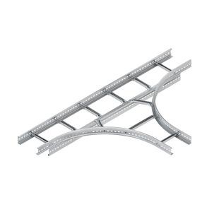 KLT 60.203, T-Stück für KL, 60x200 mm, mit gelochten Seitenholmen, SA 300 mm, Stahl, bandverzinkt DIN EN 10346
