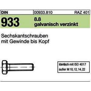 D933/SKS/8.8 M 10 x 30 gal Zn