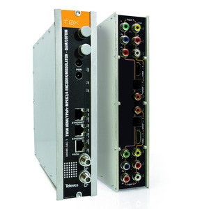 T-0X - TWIN - Modulator, 2 x HDMI in QAM oder COFDM