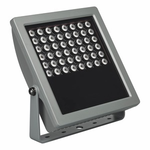BCP419 48xLED/GN 100-277V 40 CE ON-OFF, VAYA FLOOD HP MONO - 48 x - MASTER LED - Tiefbreitstrahlend 40° - Farbe: Dunkles Grau