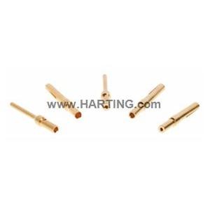 Crimpkontakt, gedreht, Buchse, Kupferlegierung, Leiterquerschnitt: 0,25...0,52mm², AWG 20 ... AWG 24
