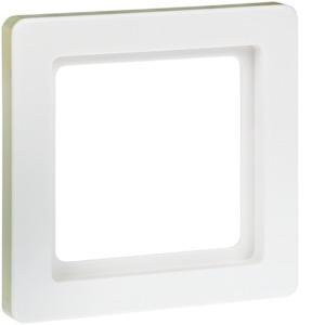 Rahmen 1fach Q.1 pw samt farb-konfigur