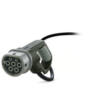 EV-T2M3C-3AC32A-4,5M6,0ESBK00, AC-Ladekabel - EV-T2M3C-3AC32A-4,5M6,0ESBK00