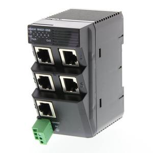 W4S1-05B, Ethernet Switch 5 Ports, DIN-Schienenmontage, 24VDC