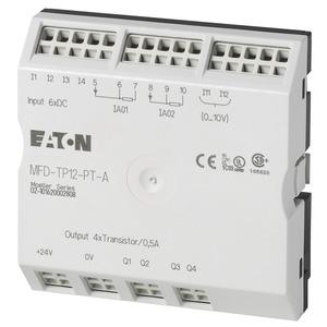 MFD-TP12-PT-A, E/A-Modul mit Temperaturerfassung für MFD-Titan, Bereich A, 6DI(2AI), 2I-Pt100, 4DO-Trans