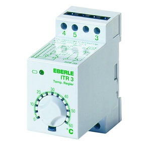 ITR-3 20, Temperaturregler auf Tragschiene -40...20C, AC 230V, 1We, potential frei, 10 A