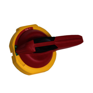 Betätigungshebel rot/ gelb