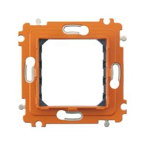Tragring, 2-modulig, für horizontale und vertikale Installationen mit 1-fach bis 4-fach Abdeckrahmen
