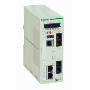 Ethernet TCP/IP Managed Switch, ConneXium, 2TX/2FX, Multimode
