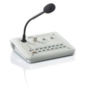 """Digitale Mikrophon-Sprechstelle (zur Fernbedienung von 6-LS-Kreisen, """"ALL-CALL"""" und DM-10)"""