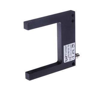 sensor opt,gabel/60 80x80x10,rotl 10-35V DC,200mA,M8-Stecker,getaktet