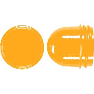 Schraubhaube, flach, bruchsicher, für Leuchtmittel mit maximal 35 mm Gesamtlänge