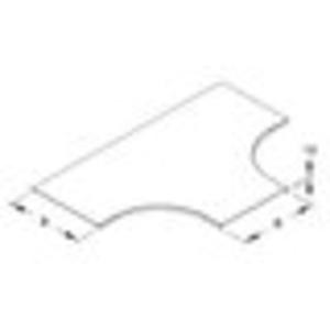 Deckel T-Stück für Kabeltragsystem