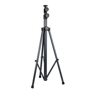 3-Bein Teleskop Arbeitsleuchtenhalter 1,10m bis 3,10m / pulverbeschichtet