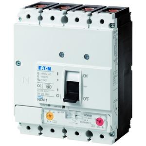 NZMB1-4-A125, Leistungsschalter, 4p, 125A