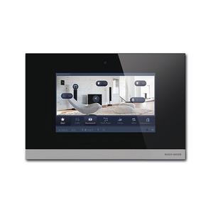 8136/09-825, Busch-ComfortPanel 9, Glas schwarz, Busch-Powernet KNX, Touchpanels