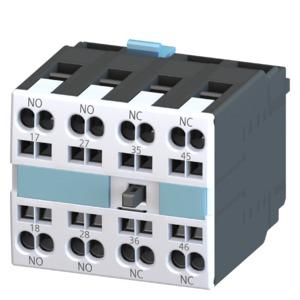 3RH1921-2FC22, Hilfsschalterblock 22U, 2S+2Ö, DIN EN50005, CageClamp-Anschluss für Motorschütze