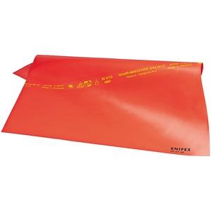 98 67 10, VDE Abdecktücher aus Gummi Tuch, orange 1.000 x 1.000 x 1 mm