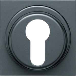 Abdeckung für Schlüsselschalter, anthr.