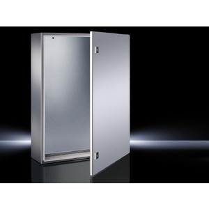 AE 1005.500, Kompakt-Schaltschrank AE, Edelstahl 1.4404, 1-türig, BHT 300x380x210 mm