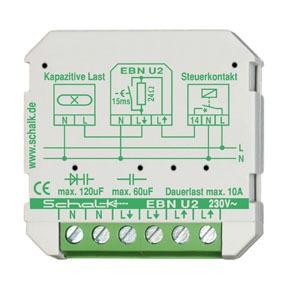 EBN U2, Einschaltimpulsstrom-Begrenzer 230V AC 10A (UP)