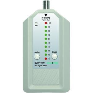 Signaltester BK, 188-374 MHz, 60-95 dB Messbereich, F-Buchse, Adapter