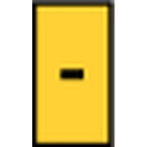 WIC2--PA66-YE (1000), WIC Kennzeichnungsclip WIC2 - Gelb PAK = 200 ST