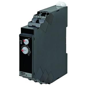 H3DT-HCL 100-120VAC, Zeitrelais, DIN-Hutschienenmontage, 17.5mm, Ausschaltverzögert, 1s-120s, 1 Wechsler, 5A, 100-120V AC/DC, Push-In