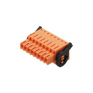 BLZF 3.50/12/180LH SN OR BX PRT, Leiterplattensteckverbinder, Buchsenstecker, 3.50 mm, Polzahl: 12, 180°, Zugfederanschluss, Klemmbereich, Bemessungsanschluss, max.: 1.5 mm²,