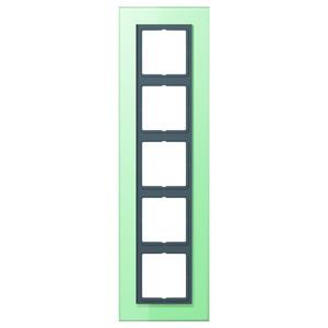 LSP 985 GLAS, Einscheibensicherheitsglas nach DIN 1249 Oberfläche satiniert 5fach Glas 115x399
